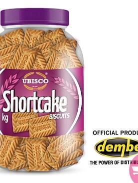 Ubisco biscuit Jar, shortcake - 1Kg