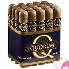 20 pack Churchill long quorum humidor cigars.