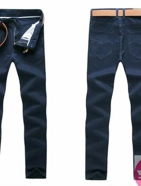 Men's khaki trousers-blue