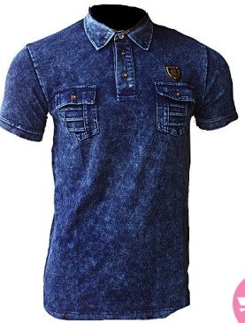 Men's jean's shirt