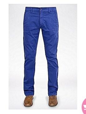Men's blue khaki pants