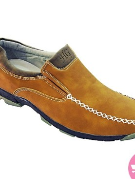 Men's casual shoes- brown