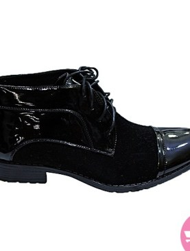Men's ankle gentle shoes-black