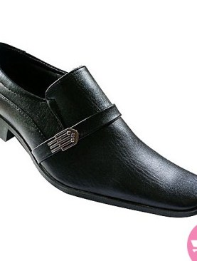 Men's gentle shoes- black