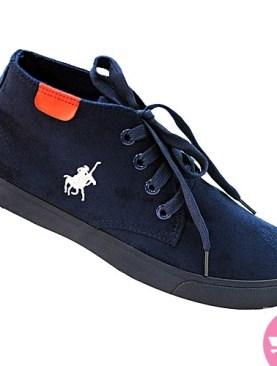 Men's sneaker shoes - navy blue