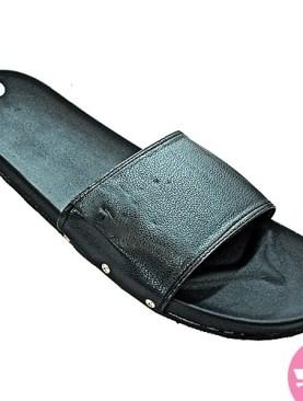 Men's flat shoes - black