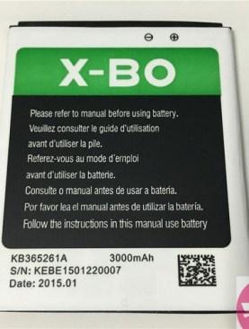 X-BO battery for XBO V3 M8 V42 V39