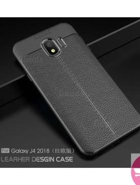 Samsung J4 Auto Focus Back Case - Black