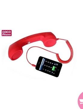 Universal Radiation-Proof Handset - Red