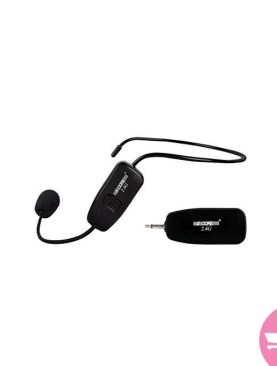 5 Core WHM-01 2.4G Wireless Headset Microphone - Black