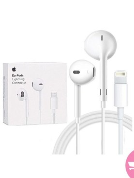 Earpods With Lightning Connector for iPhone 7 - White