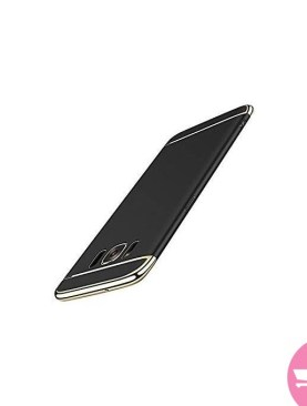 Mchoice Luxury Thin Electroplate Hard Case Cover for Samsung Galaxy S8 Plus/S8+ 6.2 Inch - Black