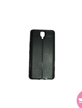 Generic Infinix note 4 autofocus Back Cover - Black