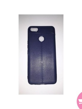 Auto Focus Back Cover For Infinix X 604, Note 5 - Dark Blue