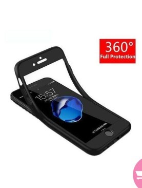 360 Rubber Case for iPhone 6/6s - Black