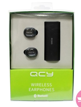 QCY Wireless Earphones - Grey