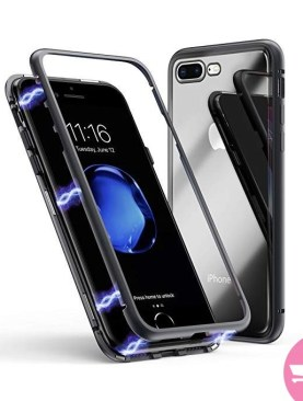 Iphone 7plus/8plus magnetic phone case black