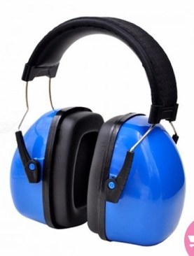 Upgraded Earmuff/Noise Proof Headphones - Blue,Black