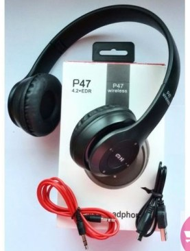 SHARE THIS PRODUCT P47 Wireless Headset - Black