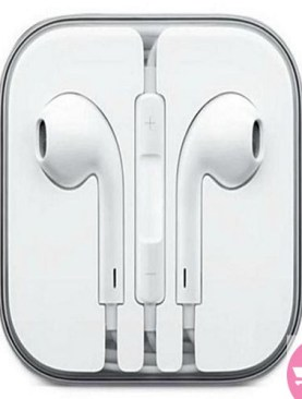 Original Earpods for iPhone 5, 5s, 6 and 6s - White