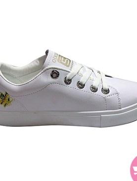 Qixun men's sneaker shoes - white