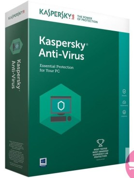 KASPERSKY ANTI VIRUS 2019 3 USERS +1 USER