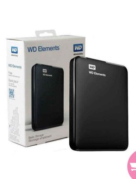 Western Gates 1TB External Hard Disk - Black