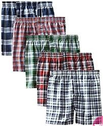 A pack of five men's boxers