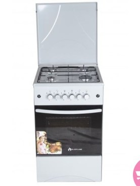 50*50 Blue Flame C5040G-W Full Gas Cooker - White