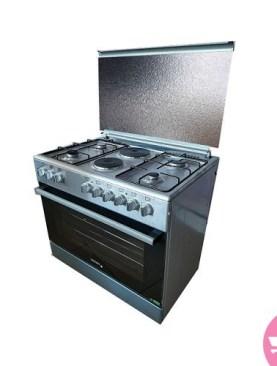 90x60 Ocean Cooker OCER9642-22I (4+2) - Silver