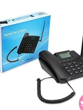 ZT600G GSM Fixed Wireless Dual SIM Card Landline - Black