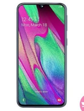 Samsung Galaxy A40 - Black