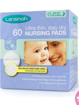 60pack Lansinoh Disposable Nursing Pads