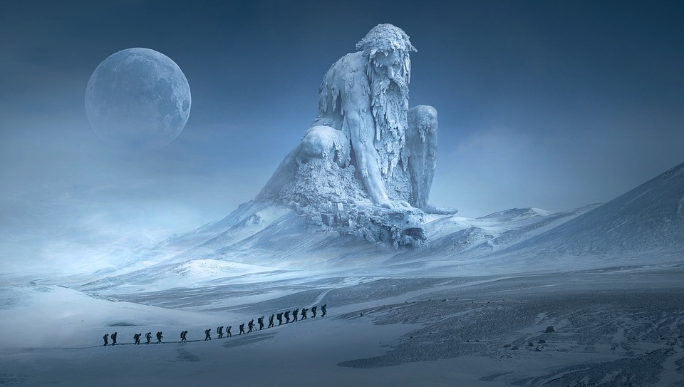 Winter Fantasy - Friday fifty word fiction