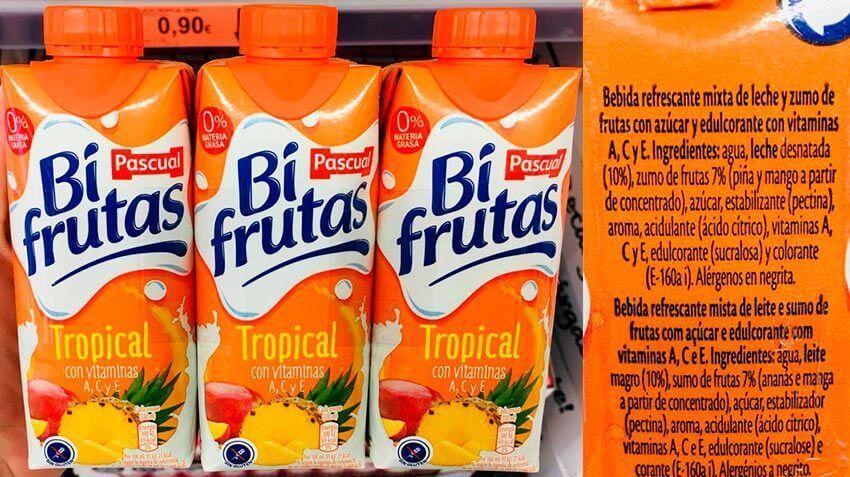 bifrutas no es un zumo