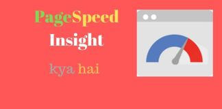 PageSpeed Insights kya hai
