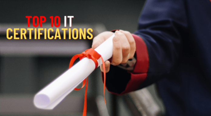 Top 10 Certification for 2021