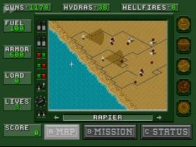 désert strike map