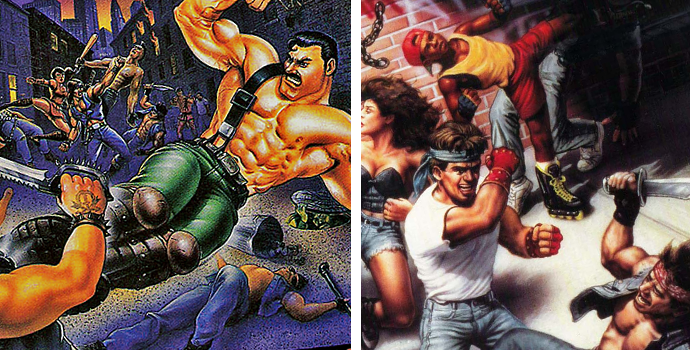 Les inspirations de Streets of Rage