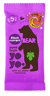 Bear Nibbles Blackcurrant YOYO
