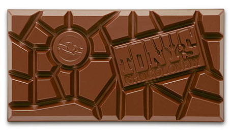 Tony's Milk Chocolate Almond Honey Nougat 180 g