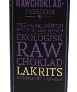 Rawchokladfabriken Lakrits
