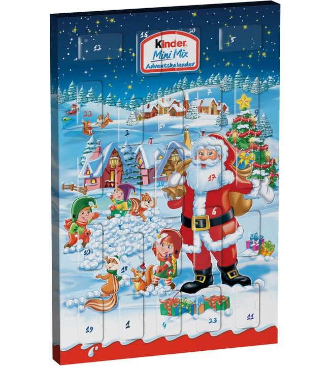 julkalender med godis