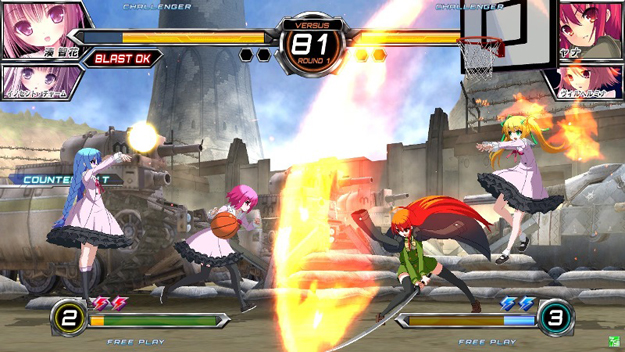 Vlakyria Chronicles Stage at Fighting Climax