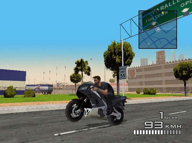 headhunter-dreamcast-screenshot-use-your-bike-to-transport
