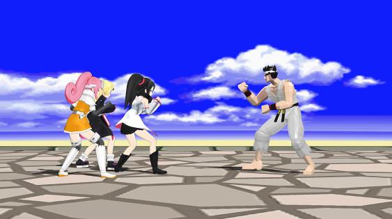 sega hard girls akira from Virtua Fighter