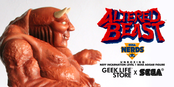 Boss Aggar Figure from Altered Beast by Geeklife