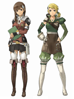 Stella the 17 year old strategist and Ashe the soilder