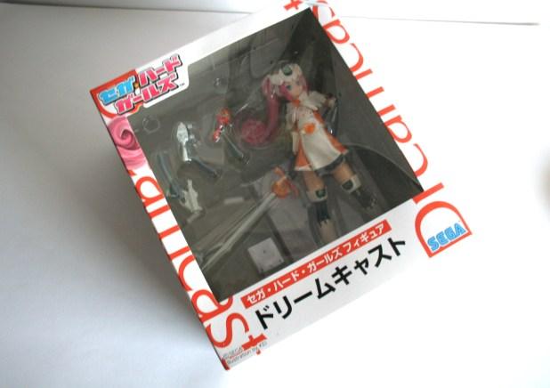 Dreamcast Hard Girl figure box