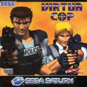 Virtua Cop was released around the same time as the PlayStation in North America.